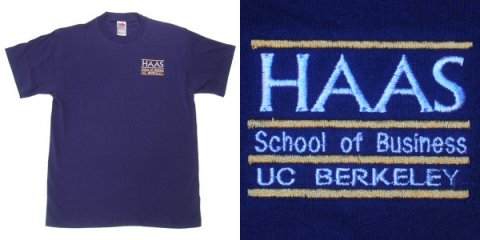 Short Sleeve T-Shirt Style #Haas emb