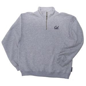 Quarter Zip Sweatshirt Style #7800 heather