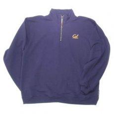Quarter Zip Sweatshirt Style #7800 navy