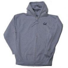 Full Zip Hood Style #7106 heather XXXL