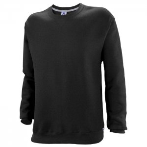 Russell Athletic Dri-Power Performance Crewneck Sweatshirt Style #698HBM1 Black