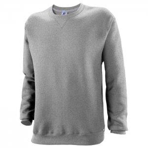 Russell Athletic Dri-Power Performance Crewneck Sweatshirt - Oxford