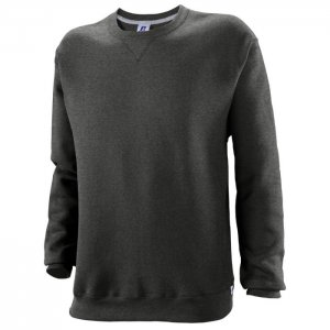 Russell Athletic Dri-Power Performance Crewneck Sweatshirt Style #698HBM1 Black Heather