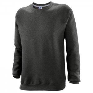 Russell Athletic Dri-Power Performance Crewneck Sweatshirt Style #698HBM1 Black Heather