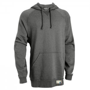 Russell Athletic Dri-Power Performance Hooded Sweatshirt Style #695HBMI Black Heather
