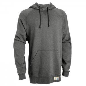 Russell Athletic Dri-Power Performance Hooded Sweatshirt Style #695HBMI Black Heather