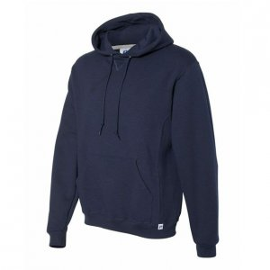 Russell Athletic Dri-Power Performance Hooded Sweatshirt Style #695HBMI Navy
