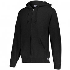 Russell Athletic Dri-Power Performance Full Zip Hooded Sweatshirt - Black