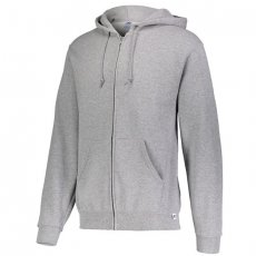 Russell Athletic Dri-Power Performance Full Zip Hooded Sweatshirt - Oxford