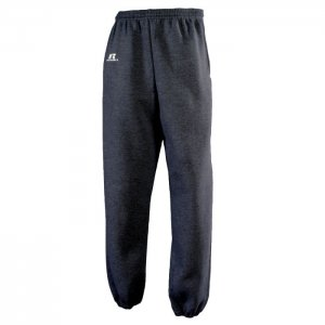 Russell Athletic Dri-Power Performance Sweatpant with Side Pocket Style #029HBM0 Black Heather