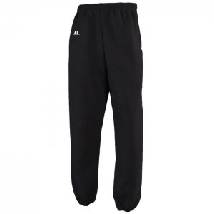 Russell Athletic Dri-Power Performance Sweatpant with Side Pocket - Black