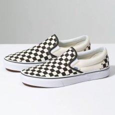 Vans Slip On - Black/White Check