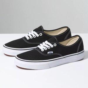 Vans Authentic - Black/White