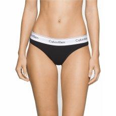 Calvin Klein Modern Cotton Thong - Black
