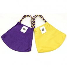 Face Mask 2 Pack - Purple Solid and Yellow Gold Solid