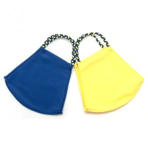 Face Mask 2 Pack - Navy Solid and Sunshine Solid