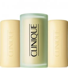 Clinique 3 Little Soaps with Travel Dish - Mild