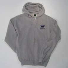Full Zip Hood Style #f202 heather grey