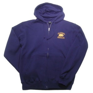 Full Zip Hood Style #f202 navy