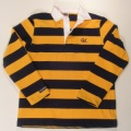 Rugby Shirt Style #BLSS5028 navy/gold