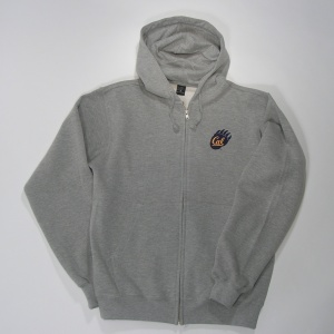 Full Zip Hood Style #f202claw heather