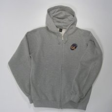 Full Zip Hood Style #f202claw heather
