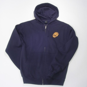 Full Zip Hood Style #f202claw navy